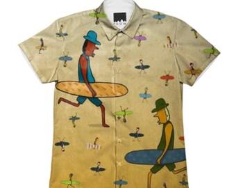 Surfer Dudes short-sleeve shirt