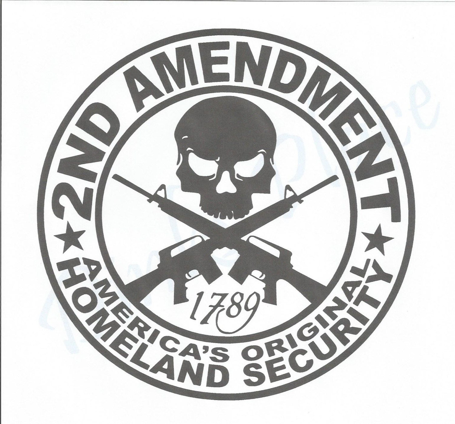 2nd amendmentericas original homeland security vinyl zoom buycottarizona