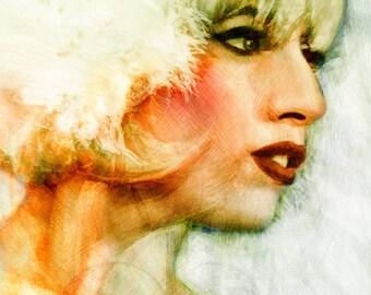 Lady Gaga - Limited Edition Giclee Print 16 x 20