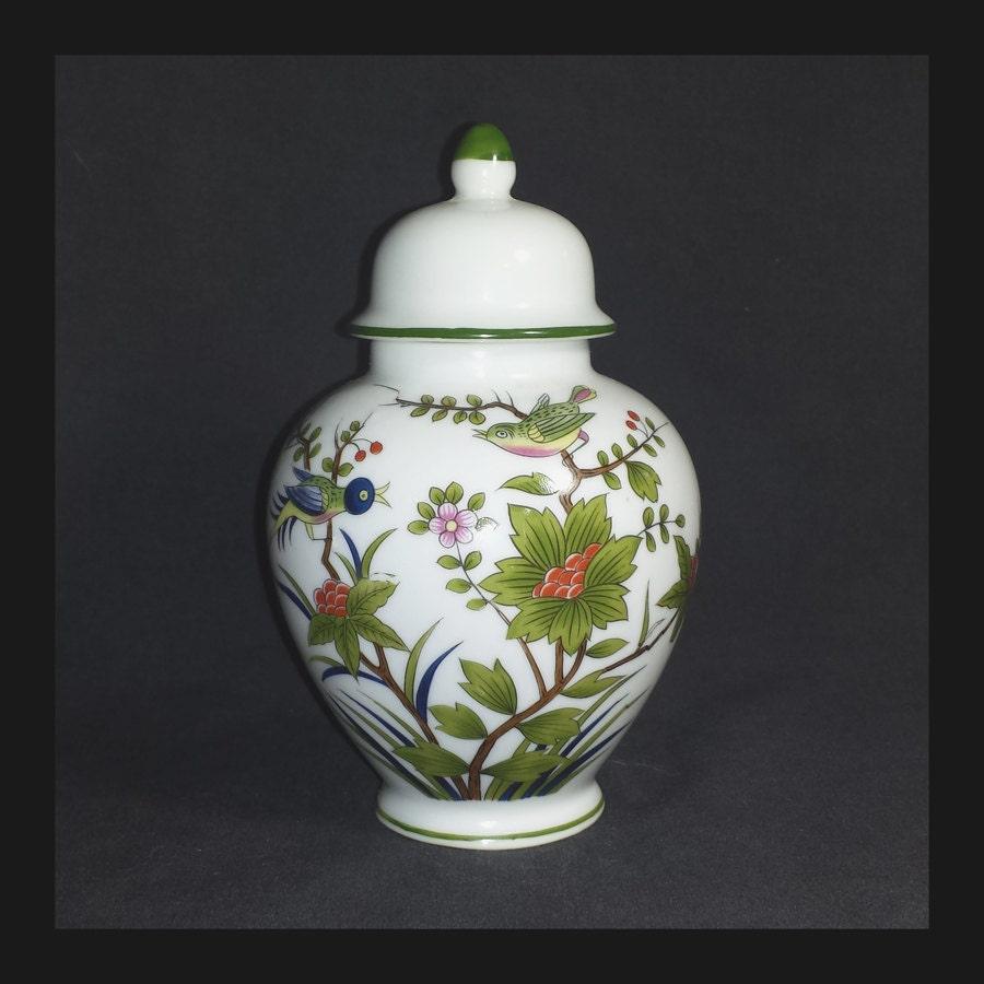 Vintage andrea by sadek ginger jar 1960s oriental birds zoom reviewsmspy