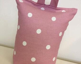 Pink Spot Doorstop