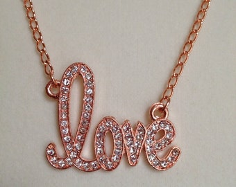 Love Sparkle Necklace