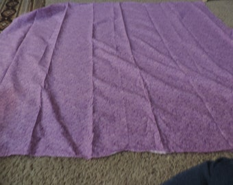 1 Piece of Purple Fabric ( over a yard)