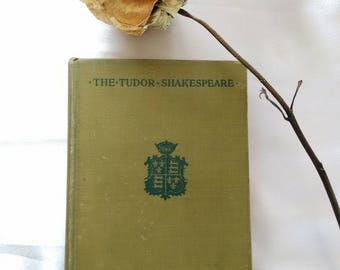 1912 Antique Hardcover Book, Shakespeare's 'The Winter Tale'