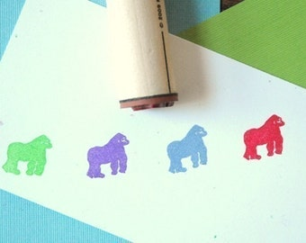 Gorilla Rubber Stamp