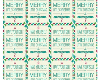 Digital Christmas Gift Tag Printable