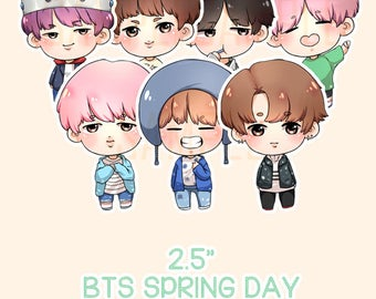 BTS Spring Day Charms