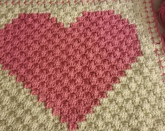 Crochet Heart Pillows