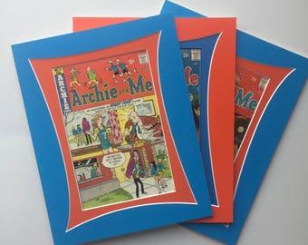 11 x 14 Vintage Comic Book Art