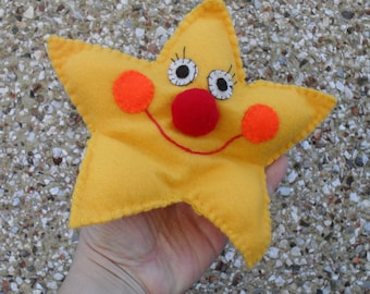 Twinkle Little STAR -PDF sewing pattern - How to Make Star Hand Puppet
