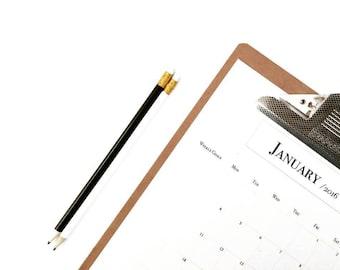2016 Minimalist Calendar/Wall Planner - Printable