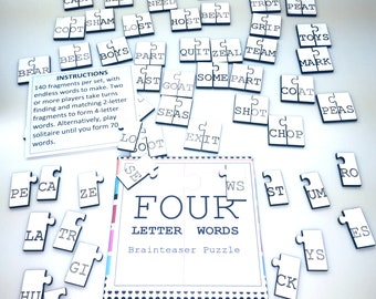 Four Letter Words Game | Educational Fun