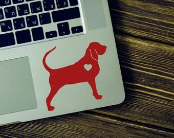 Bloodhound Sticker Car Laptop Vinyl Decal Sticker