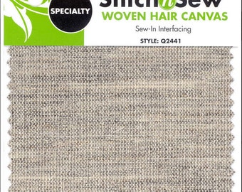 Stitch n Sew - Woven Hair Canvas (Speciality) : Q2441