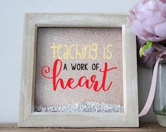Teacher quote frame