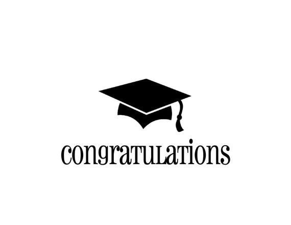 graduation card congratulations graduation cap card single