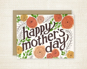 Mother's Day Card - Pretty