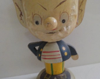 Big Ears Fairylite egg cup circa 1950's kitsch retro Noddy Blyton