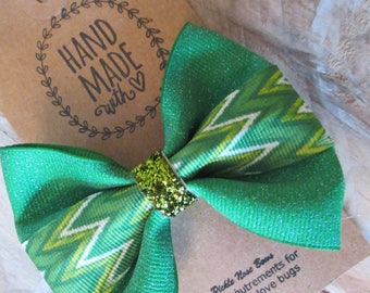 St Patrick's Day bowtie style bow