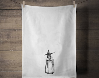 Mrs. Crow Tea Towel - Kitchen - Houseware - Crow - Gift - Fall - Holiday