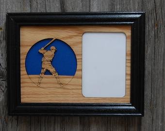 Baseball Picture Frame, Baseball Player Gift, Baseball Parent Gift for Coach, Baseball Decor