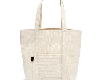 Tote Bag 50 - Traditional Judo Uniform Fabric - Natural