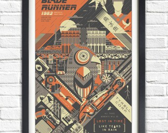 Blade Runner - 1982 - 19x13 Poster