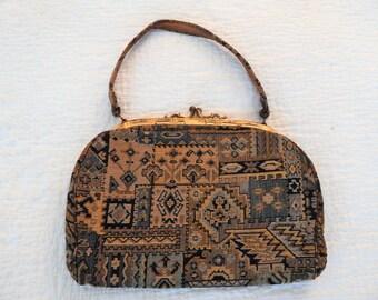 1920s-30s Brocade Vintage Purse Handbag
