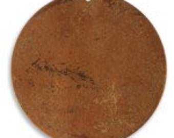 Vintaj 33.4mm Large Circle Blank - Copper (2)
