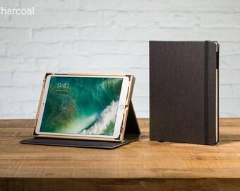 The Contega Linen Case for iPad Pro 10.5 - Charcoal