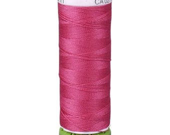 Raspberry Pink Gutermann Recycled Polyester Thread (GT382)