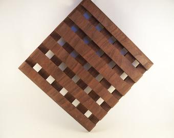 Walnut Wooden Trivet, Wooden Trivet