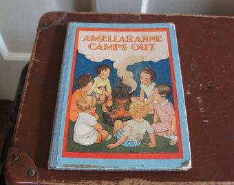 Vintage, 1939, Published by G.Harrap & Co. Ltd, 1st Publication, Ameliaranne Camps Out, Hard Back, Book, Constance Heward, S. B. Pearse