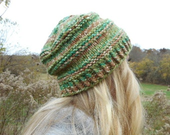 Knit - Patterns - Pattern - Knitting - Hat - Knitting Pattern - Slouchy - Knit Hat - Winter Hat - Hat Pattern - Knit Pattern -