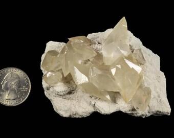 Calcite on Limestone