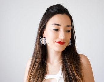 Hoop Earrings Earrings Gold Hoop Earrings Large Hoop Earrings Brass Hoops Gold Hoops Statement Hoop Earrings/ CELESTE