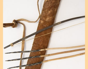 MINIATURE TRIBAL TOY - Bow and Arrow, From Africa