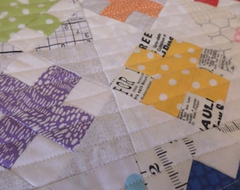 X's Mini Quilt Wall hanging