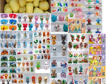 25 Toys from Kinder Surprise eggs for girls Prizes Gifts Cristmas Collectibles