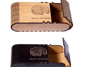 Custom Wooden Bow Tie Gift Box Best Man Groomsmen gift Wedding Gift Bag Birthday gift Package Present for Boyfriend Father