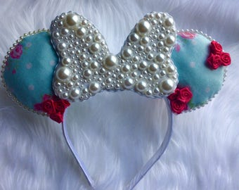 Garden Pearl Minnie Mouse Ears
