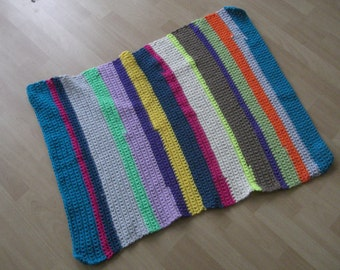 Carpet or tapestry crochet needle size 12 80 x 110 cm, washable