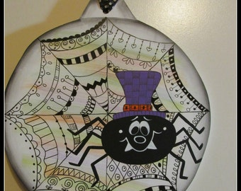 Zen tango Spider Ornament