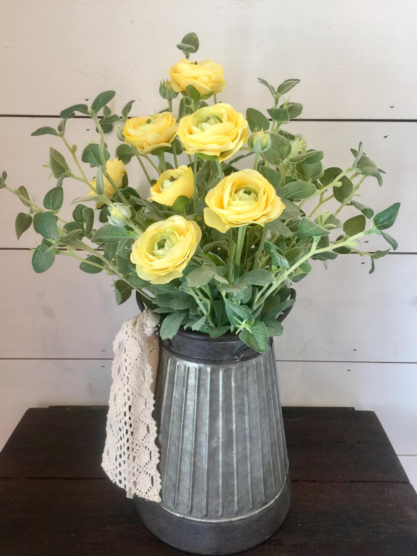 Yellow Flower Arrangement Summer Flower Arrangement