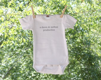 Personalized Production Infant Bodysuit
