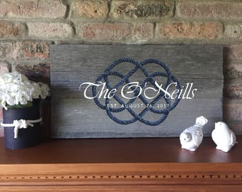 Celtic Knot Sign