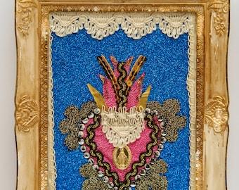 sacred heart/Sacred Heart/sacred corazon/ex voto