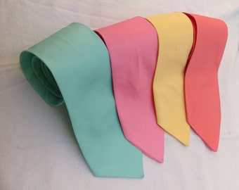 Groomsmen NECK TIE - Adult neck ties - Bows Neck Ties - Easter neck ties - All Colors available