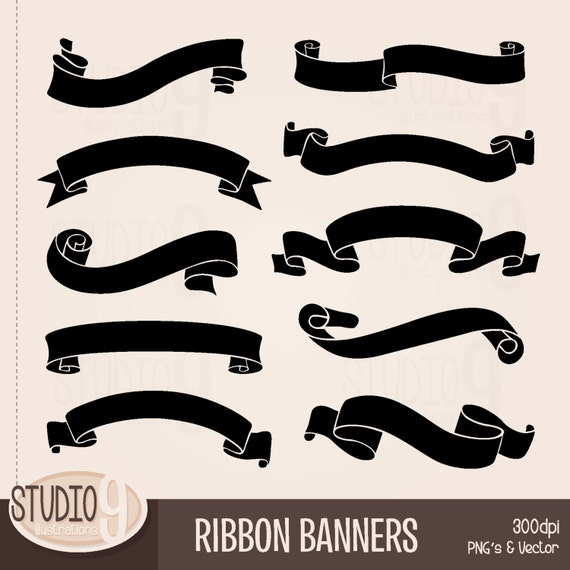 Famous RIBBON BANNER Clipart: Banner Clip Art, Ribbon Banner Download  PM26