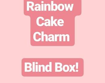 Rainbow Cake charm blind box